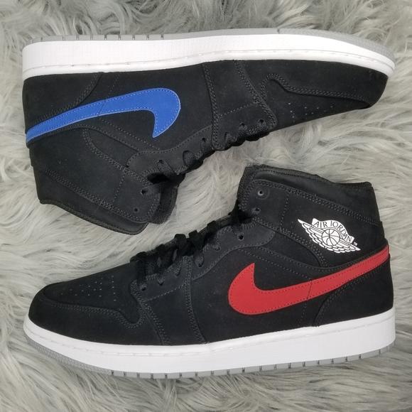 air jordan 1 red blue and black